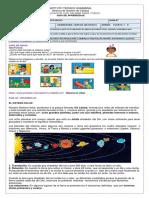 GUIA   DE APRENDIZAJE SISTEMA SOLAR  Y LA TIERRA  CUARTO 01-04-20 - (1)