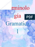 Terminología gramatical