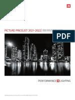 202103 Performance in Lighting Catálogo Tarifa Light Collection 2021-2022 España