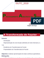 Aula #10-Transformada de Fourier