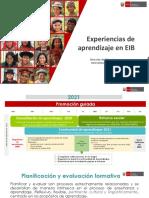 WEBINAR - DIA 11 - Planificación curricular y evaluación formativa en EIB