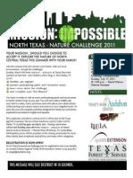 Texas Nature Challenge--DFW