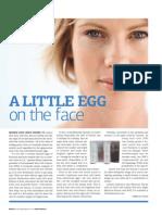 A Little Egg On the Face - LifeLine Skin Care Stem Cell Cream
