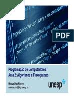 Aula 2 - Algoritmos e Fluxogramas
