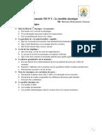 TD macroéconomie 1