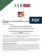 Charcuterie _ un marché de 600 MDH avec cinq entreprises structurées - La Vie éco