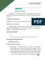 APOSTILA KLIN - Direito Civil - Direito das Obrigaçoes