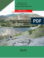 Deslizamiento de Tierras Cerro Pucutura