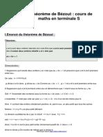 le-theoreme-de-bezout-cours-de-maths-en-terminale-s