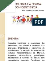 1- Aula 1 e 2- História da deficiência, conceitos e definições