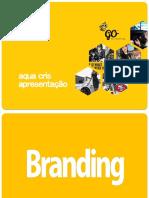 Apresentação de Branding-conceito e Marca AQUA CRIS