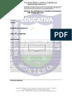 FORMATO DE INSCRIPCION DE CANDIDATOS 2018