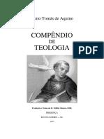 Compêndio de Teologia de Santo Tomás Compendium Theologiae