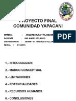 Civ 329, Proyecto Final Yapacany (2)