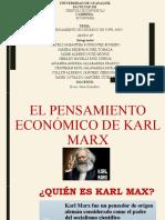 El Pensamiento Economico de Karl Max