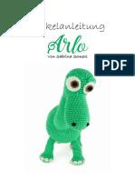 Crochet Pattern Arlo Deutsch