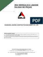 SDLG LG6225E Excavator Parts Catalogue