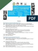 Biopolítica y pandemia 2020