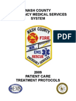 Nash County Patient Care Treatment Protocols 2009