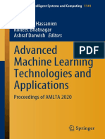 Hassanien A.E (ed.) - Advanced machine learning technologies and applications. AMLTA 2020-Springer (2021)