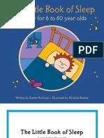 Little Book of Sleep