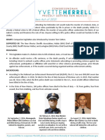 Defending Our Defenders One Pager