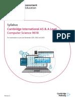 computer science-2021-2023-syllabus
