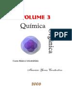 Química Orgânica - Curso Básico Universitário - Volume 3