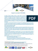 Appel à Projets FECODD
