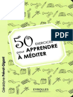 50 exercices pour apprendre a méditer