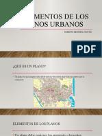 Elementos de los planos urbanos
