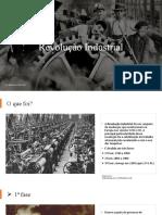 Revolução Industrial semana de 25 a 29
