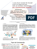 GRUPO 6 Consultoría Contratación Directa