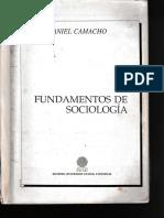 Daniel Camacho Libro
