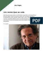 Memoria - Ricardo Piglia