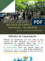 METODO Y TECNICAS DE CAPACITACION