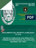 LEGISLACIÓN POLICIAL I - 4° SEMANA CMDTE SANTOS