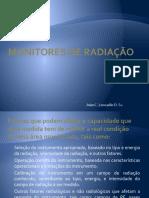 3. Monitores de Radiação J L