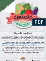 Geração Low Carb - Dicas.pdf · versão 1