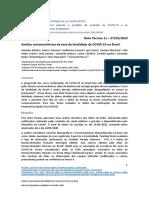 NT11 - Análise descritiva dos casos de COVID-19