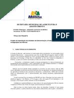 Projeto Hortigranja - Mirinzal 2021