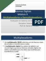 Sistemas Digitais Módulo 9 Multiplexadores e Demultiplexadores