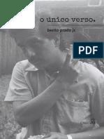 Bento Prado Jr_O único verso