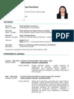 PSC. CL. Jessica Margoth Chiliquinga Montaluisa