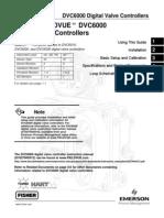 dvc6000 valve controller