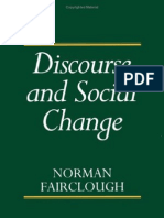 Fairclough 1992 Discourse and Social Change