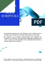 SOLO LA BIBLIA