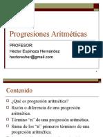 Progresion Aritmetica