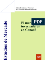 El mercado de invernaderos en Canadá