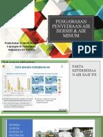 Pengawasan Penyediaan Air Bersih & Air Minum